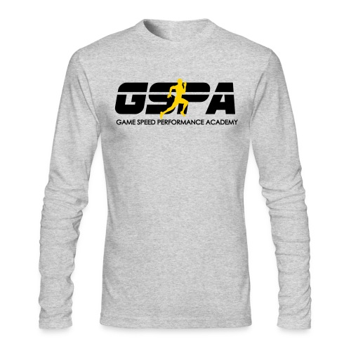 New GSPA Logo word 1 - Men's Long Sleeve T-Shirt by Next Level