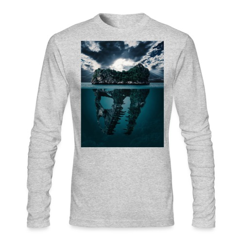 Lost Sea - Men's Long Sleeve T-Shirt by Next Level