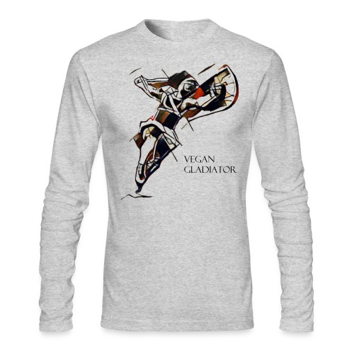 VEGAN GLADIATOR - Men's Long Sleeve T-Shirt by Next Level