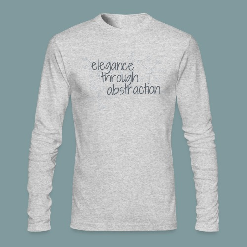Elegance through Abstraction - Men's Long Sleeve T-Shirt by Next Level
