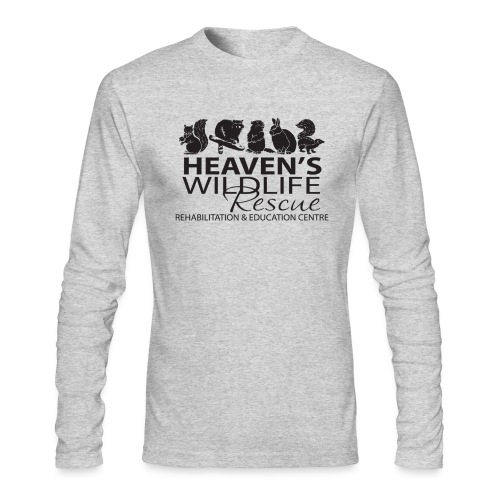 Heaven's Wildlife Rescue - Men's Long Sleeve T-Shirt by Next Level