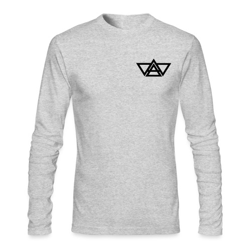 Black LOGO - Men's Long Sleeve T-Shirt by Next Level