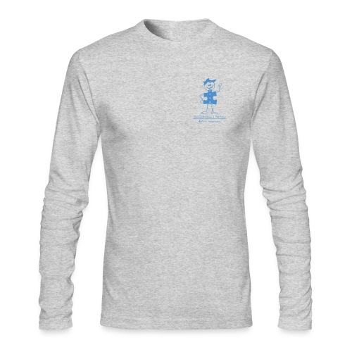 Autism Boy Small Blue - Men's Long Sleeve T-Shirt by Next Level