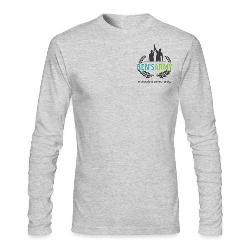 BensArmy Final Logo - Men's Long Sleeve T-Shirt by Next Level