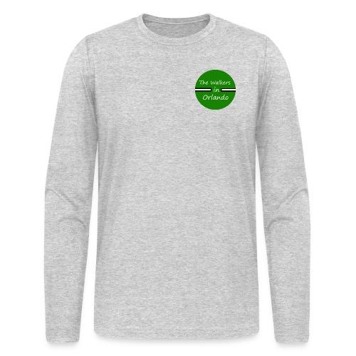 Circular Logo - Men's Long Sleeve T-Shirt by Next Level