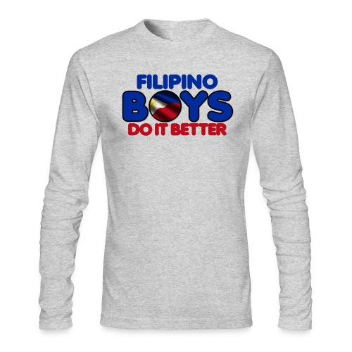 2020 Boys Do It Better 05 Filipino - Men's Long Sleeve T-Shirt by Next Level