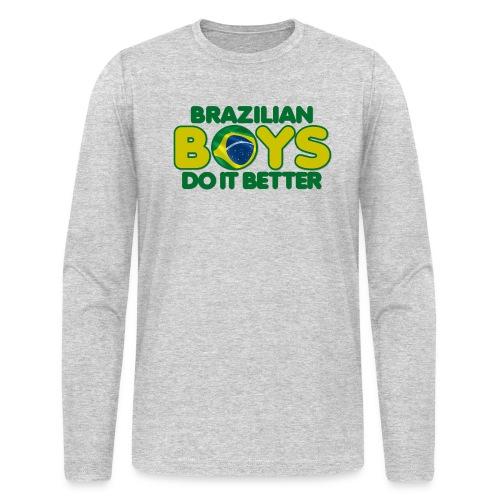 2020 Boys Do It Better 09 Brazil - Men's Long Sleeve T-Shirt by Next Level