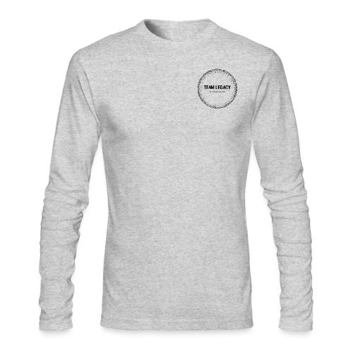 Black logo no background - Men's Long Sleeve T-Shirt by Next Level