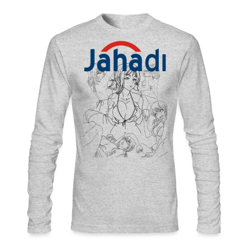 HADIBITCHES - Men's Long Sleeve T-Shirt by Next Level