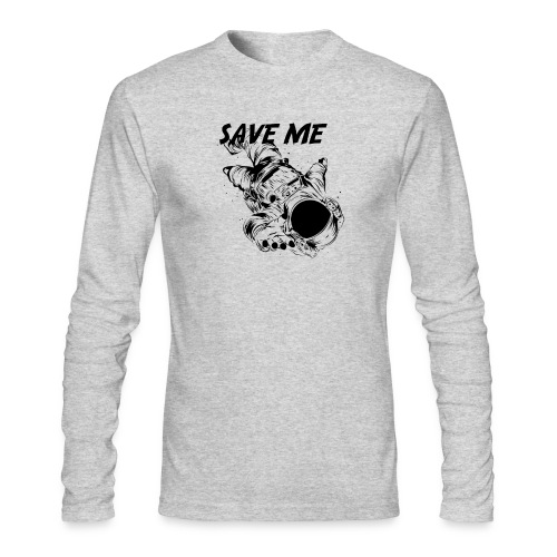 Spacer - Men's Long Sleeve T-Shirt by Next Level