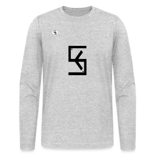 Soft Kore Logo Black - Men's Long Sleeve T-Shirt by Next Level