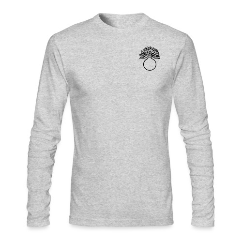 grenade small - Men's Long Sleeve T-Shirt by Next Level