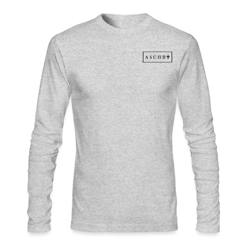 Rectangle logo small - Men's Long Sleeve T-Shirt by Next Level