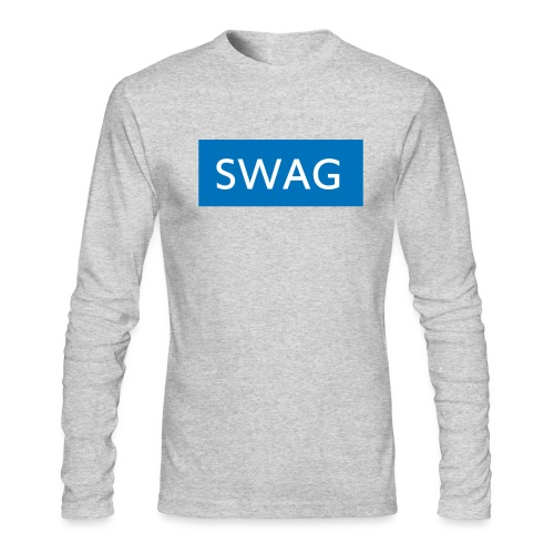 Swag blue Hoodie - Men's Long Sleeve T-Shirt by Next Level