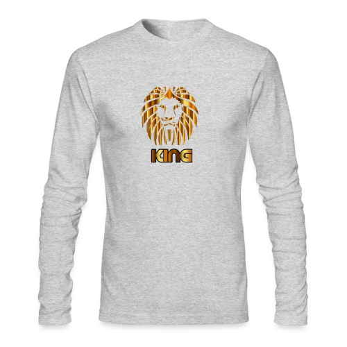 KING - Men's Long Sleeve T-Shirt by Next Level