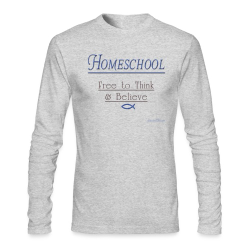 Homeschool Freedom - Men's Long Sleeve T-Shirt by Next Level