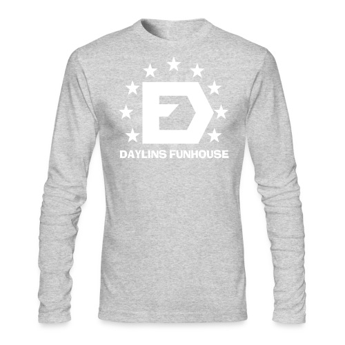 DF Classic Logo - Men's Long Sleeve T-Shirt by Next Level