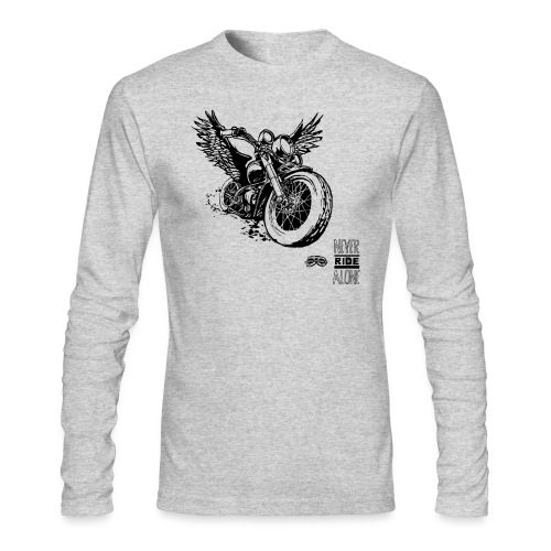 Flying Rat - Men's Long Sleeve T-Shirt by Next Level