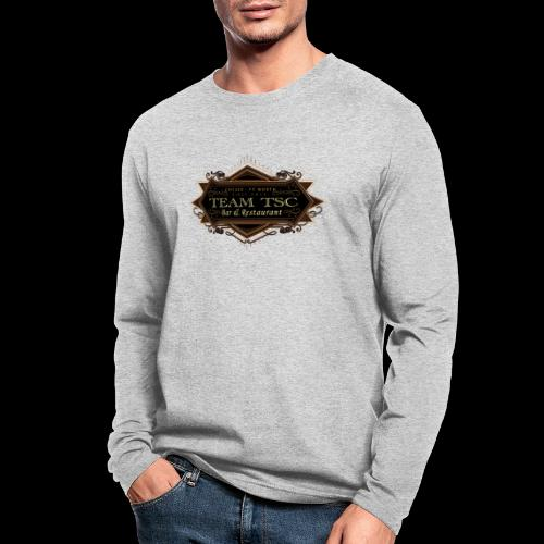 teamTSC badge03 Bar - Men's Long Sleeve T-Shirt by Next Level