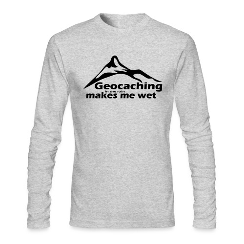Wet Geocaching - Men's Long Sleeve T-Shirt by Next Level