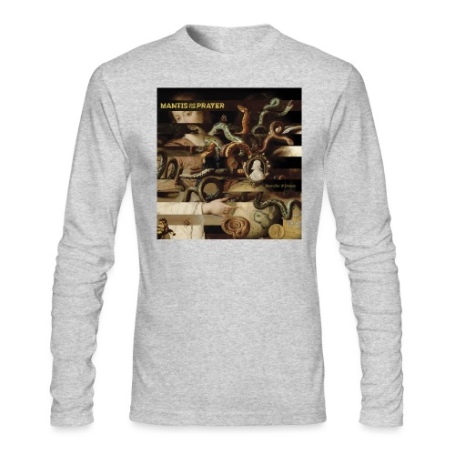 Mantis and the Prayer- Butterflies and Demons - Men's Long Sleeve T-Shirt by Next Level