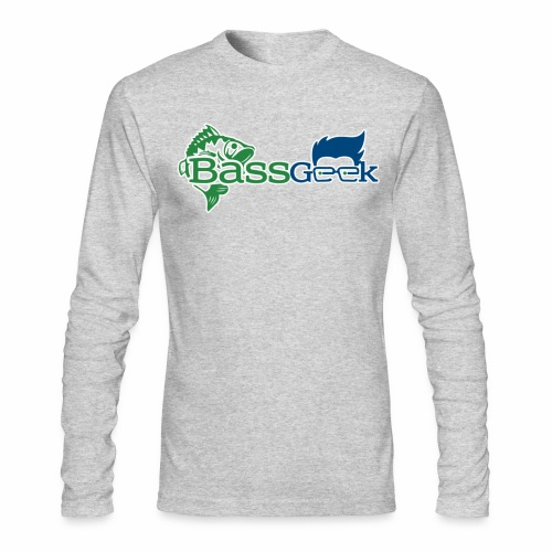 BassGeek Logo - Men's Long Sleeve T-Shirt by Next Level