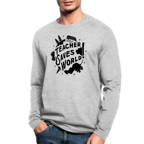 TSW! Retro World Design - Men's Long Sleeve T-Shirt by Next Level