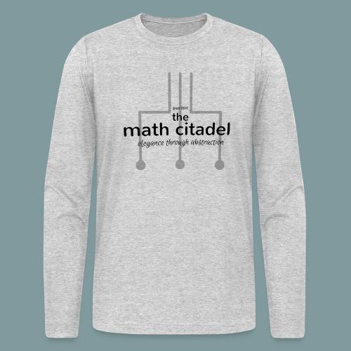 Abstract Math Citadel - Men's Long Sleeve T-Shirt by Next Level