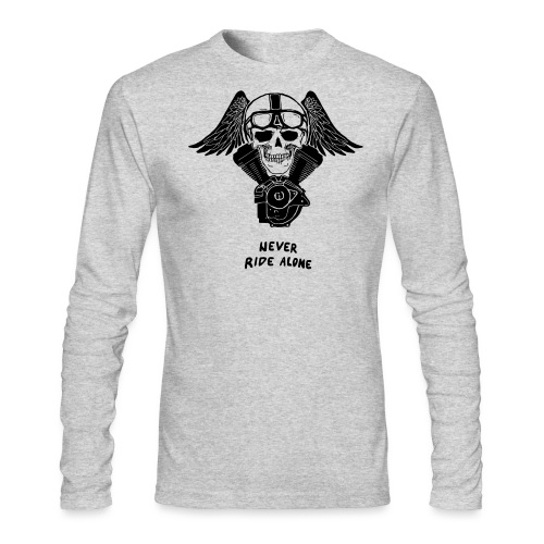 V TWIN WHITE - Men's Long Sleeve T-Shirt by Next Level