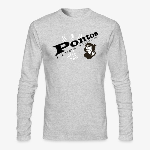 Pontos lives within me. - Men's Long Sleeve T-Shirt by Next Level