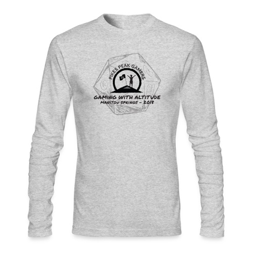 Pikes Peak Gamers Convention 2018 - Clothing - Men's Long Sleeve T-Shirt by Next Level