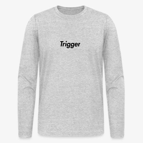 Black Trigger - Men's Long Sleeve T-Shirt by Next Level