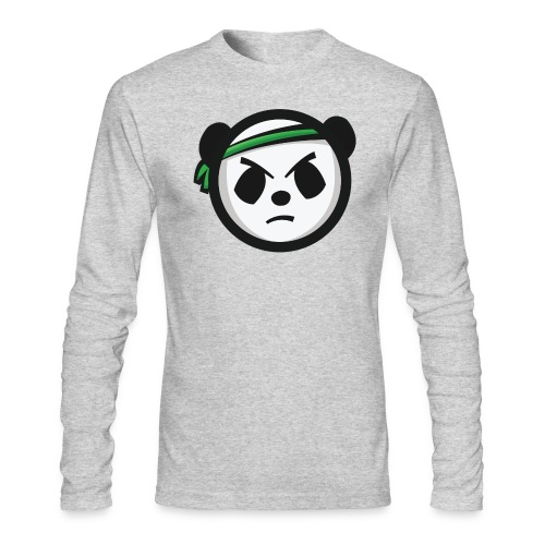 Markee Panda Logo - Men's Long Sleeve T-Shirt by Next Level