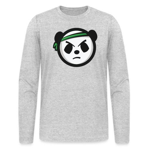 Markee Panda Logo - Men's Long Sleeve T-Shirt by Next Level