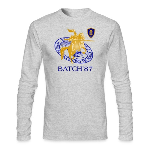Ateneo Batch 87 - Men's Long Sleeve T-Shirt by Next Level