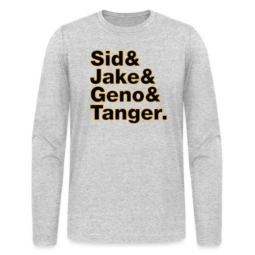 Helvetica& Hockey 2021 - Men's Long Sleeve T-Shirt by Next Level