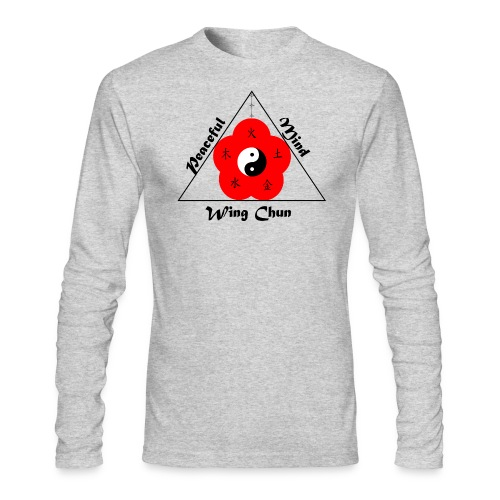 Peaceful Mind Vector - Men's Long Sleeve T-Shirt by Next Level