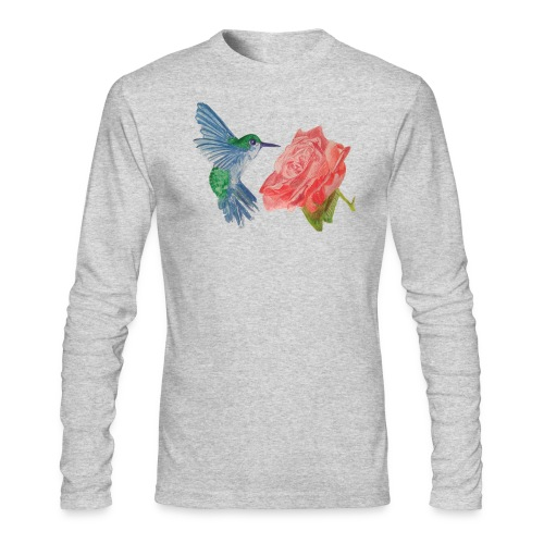 Hummingbird - Men's Long Sleeve T-Shirt by Next Level