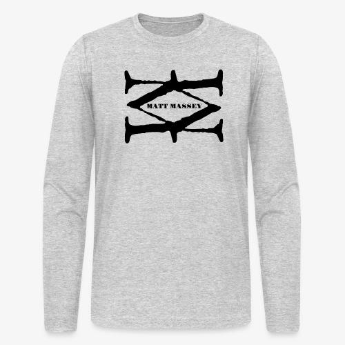 Matt Massey Logo Black - Men's Long Sleeve T-Shirt by Next Level