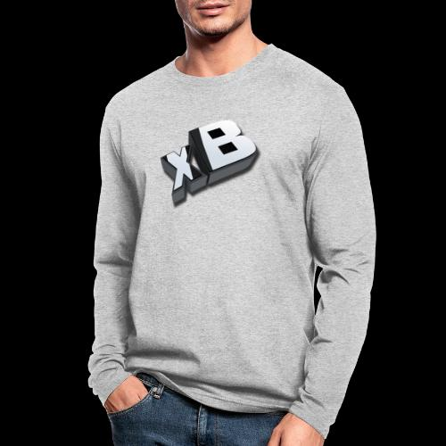 xB Logo - Men's Long Sleeve T-Shirt by Next Level