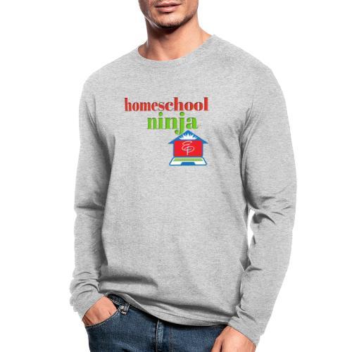 Homeschool Ninja - Men's Long Sleeve T-Shirt by Next Level