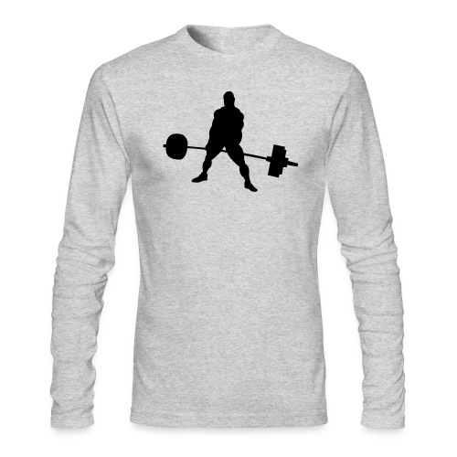 Powerlifting - Men's Long Sleeve T-Shirt by Next Level