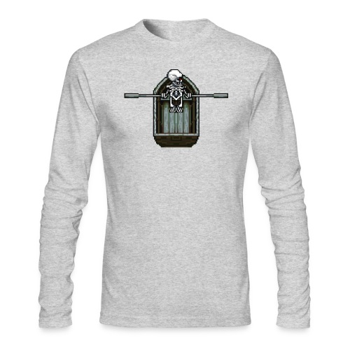 Ghost boat - Men's Long Sleeve T-Shirt by Next Level