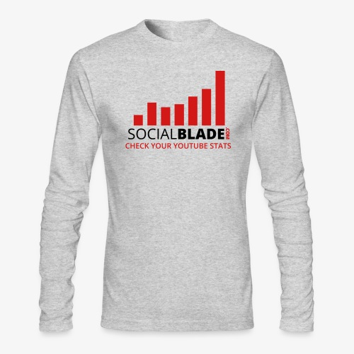 Traditional Logo Tagline - Men's Long Sleeve T-Shirt by Next Level