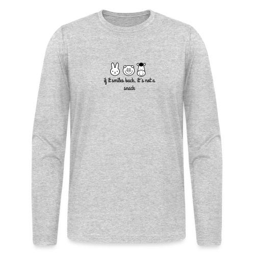 SMILE BACK - Men's Long Sleeve T-Shirt by Next Level