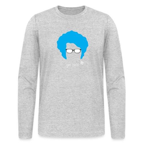 Geo Nerd (him) - Men's Long Sleeve T-Shirt by Next Level