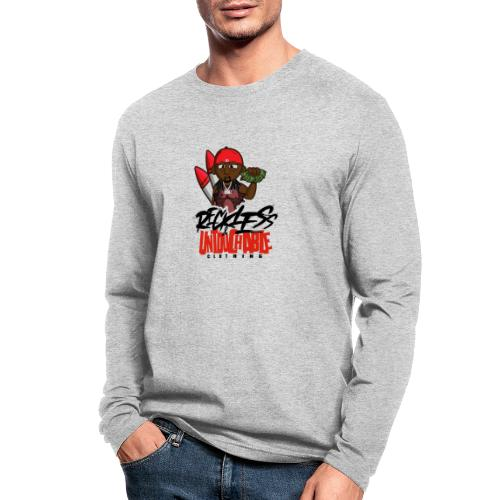 Reckless and Untouchable_1 - Men's Long Sleeve T-Shirt by Next Level