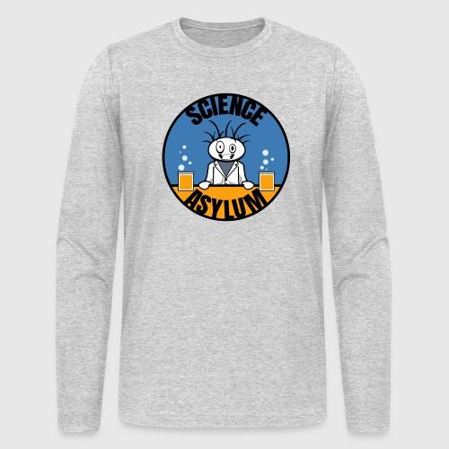 Science Asylum Logo - Men's Long Sleeve T-Shirt by Next Level