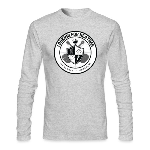Looking For Heather - Crest Logo - Men's Long Sleeve T-Shirt by Next Level