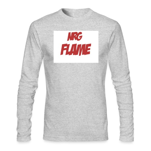 FLAME - Men's Long Sleeve T-Shirt by Next Level